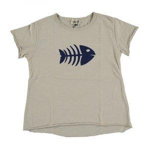 BI SUIT camiseta manga corta Pez Sabbia