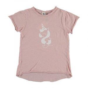 BI SUIT camiseta manga corta Unicornio Rosa