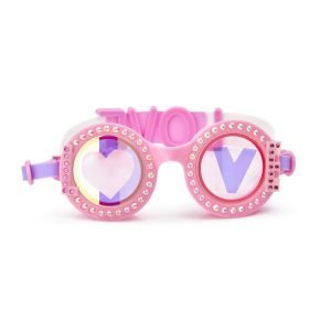 BLING20 gafas natacion groove heart pink
