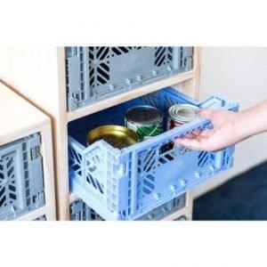 LILLEMOR caja plegable midi navy