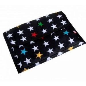 MY BAGS cambiador estrella negro