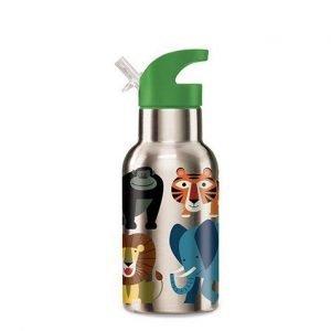 CROCODILE CREEK botella acero jungle friends