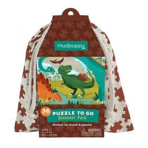 MUDPUPPY puzzle to go dino park