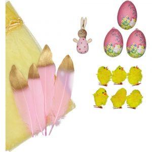 SUIT BEIBI pack 3 pink eggs