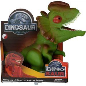 SUIT BEIBI dinosaurio goma triceratops