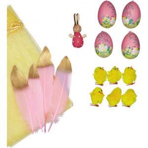 SUIT BEIBI pack 4 pink eggs