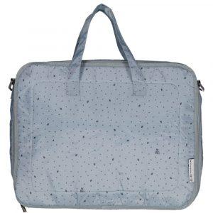 MY BAGS maleta hoja azul