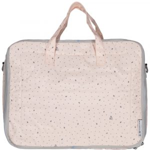 MY BAGS maleta hoja rosa