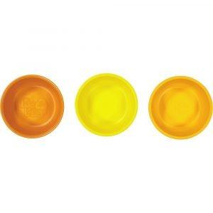 REPLAY pack 3 bowl naranja