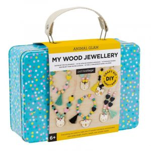 PETIT COLLAGE kit bisutería para niños madera