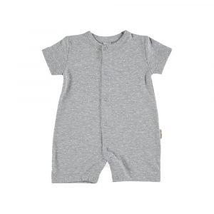 PETIT OH pijama de verano plumetti gris
