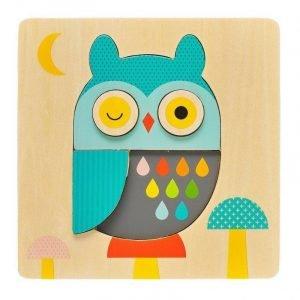 PETIT COLLAGE puzzle little owl