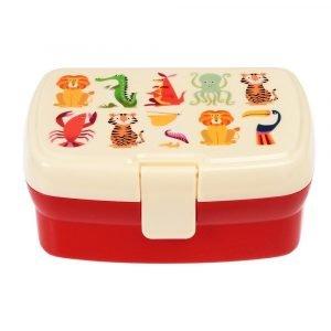 REX tupper bandeja para niños colorful creatures
