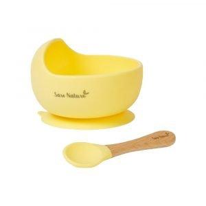 SARO set alimentación wave amarillo