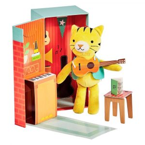 PETIT COLLAGE playset Theodore the tiger