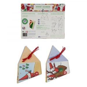 MOSES advent calendar triangles petites souris
