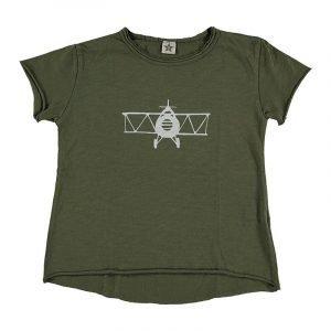 SUIT BEIBI camiseta avion Celeste