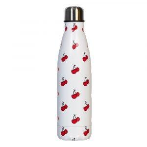 BI SUIT botella térmica 500ml Blanca Cerezas