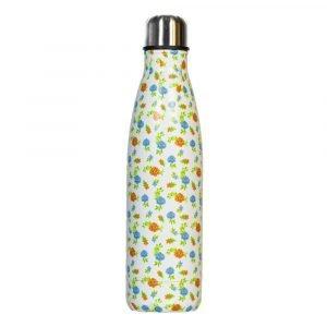 BI SUIT botella térmica 500ml Blanca Rosas