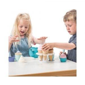 DANTOY tea set cupcake