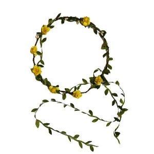 KALID MEDIEVAL corona hojas amarillo