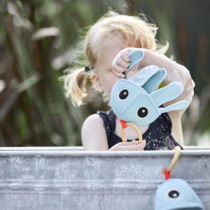 DONE BY DEER juguete de baño Jelly Blue