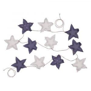 SUIT BEIBI guirnalda star cotton azul/gris