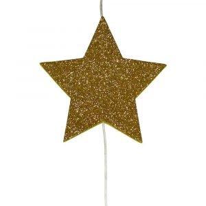 SUIT BEIBI guirnalda glitter vertical oro