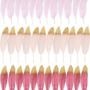 HOFF INTERIEUR plumas rosa easter time