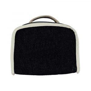 SUIT BEIBI maletín jeans negro