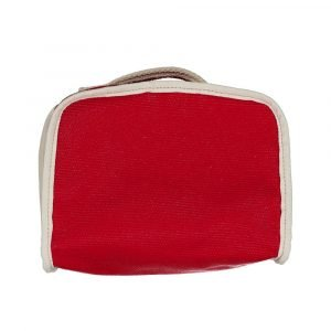 SUIT BEIBI maletín canvas rojo