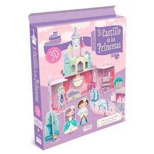 SASSI libro y maqueta 3D El Castillo de las Princesas