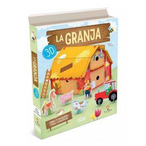SASSI libro y maqueta 3D La Granja