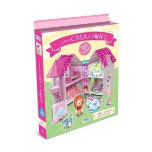 SASSI libro y maqueta 3D La Meva Casa de Nines