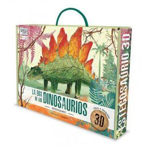 SASSI libro y puzle 3D Estegosaurio