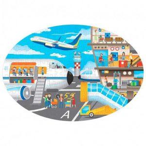 SASSI puzle y libro El Aeropuerto
