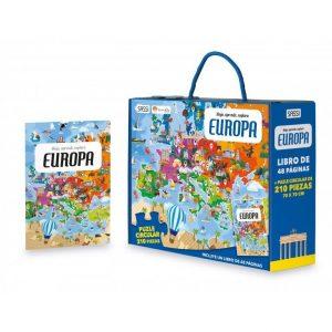 SASSI puzle y libro Europa