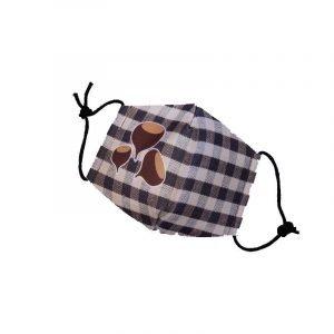 SUIT BEIBI mascarilla castanera marron