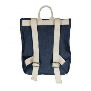 BI SUIT mochila solapa velcro Jeans Blue Moto