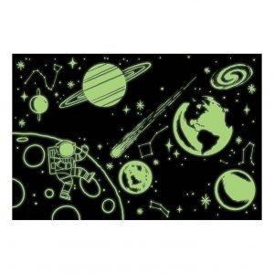 MUDPUPPY 500pz puzzle que brilla en la oscuridad espacio