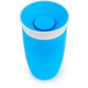 MUNCHKIN vaso anti goteo 295ml azul