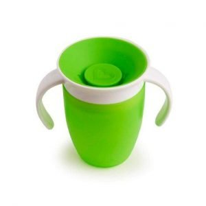 MUNCHKIN vaso antigoteo 360 miracle verde