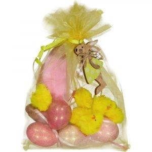 SUIT BEIBI pack glitter eggs rosa