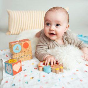 PETIT COLLAGE bloques madera Etapas Bebé