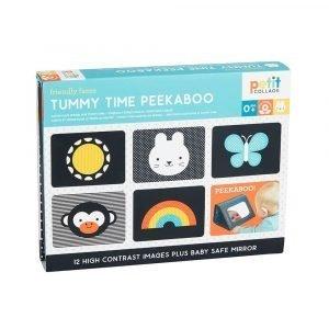 PETIT COLLAGE juego para bebes Peekaboo Tummy Time