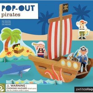 PETIT COLLAGE pop out pirata