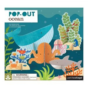 PETIT COLLAGE pop out oceano
