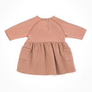 PLAY UP vestido tejido mixto
