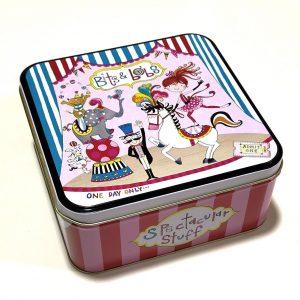 RACHEL ELLEN caja metalica para niños Bits and Bots