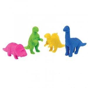 REX set 4 gomas dinos rex